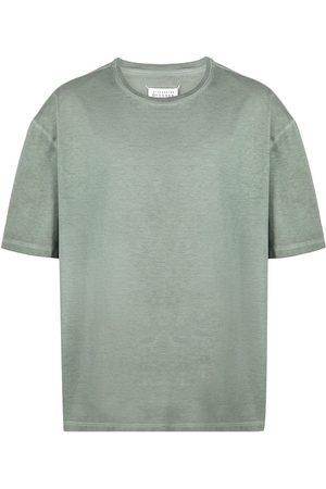 Maison Margiela T-shirt med lågt skuren axel