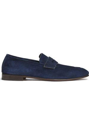 Ermenegildo Zegna Man Loafers - Suede penny loafers