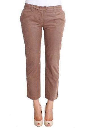 Costume National Cropped Corduroys Pants
