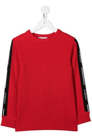 Givenchy Ribbed sweater with logoed bands