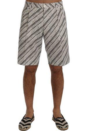 Dolce & Gabbana Striped Casual Shorts