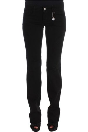 Costume National Slim Fit Bootcut Jeans