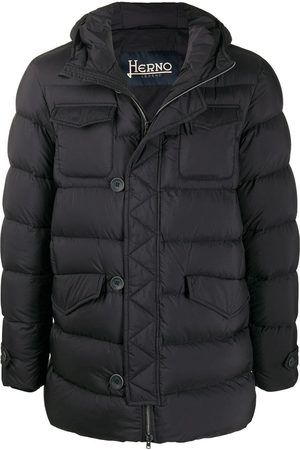HERNO Feather Down Padded Coat