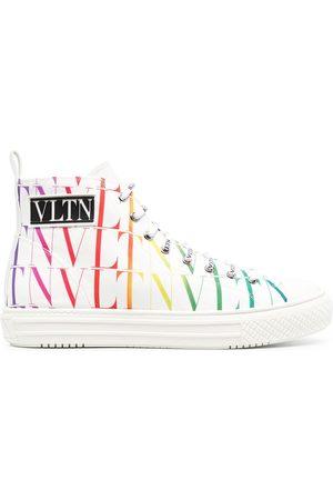 VALENTINO GARAVANI Man Sneakers - VLTN höga sneakers med logotyp