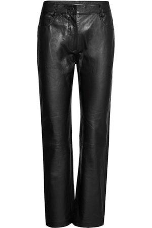Dagmar Naoko Leather Leggings/Byxor