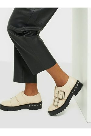 NLY Shoes Kvinna Loafers - Buckle Up Flat Shoe Loafers