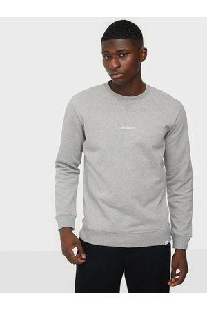 Les Deux Man Sweatshirts - Lens Sweatshirt Tröjor Light Grey Melange