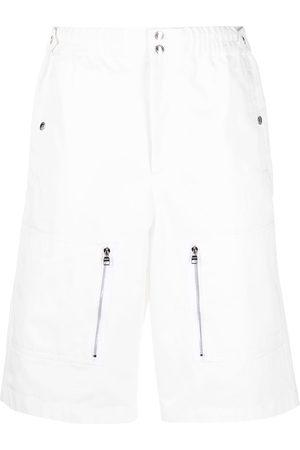 Alexander McQueen Bermudashorts med fickor