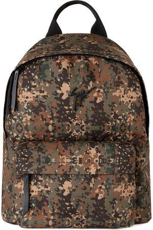 Giuseppe Zanotti Bud kamouflagemönstrad ryggsäck