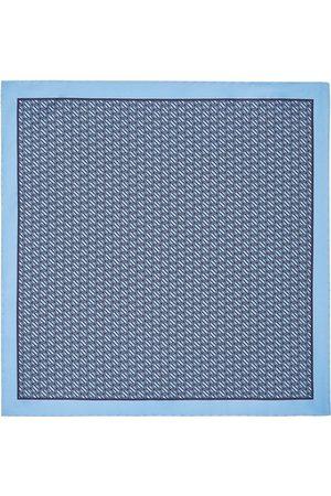 Ermenegildo Zegna Patterned silk pocket square