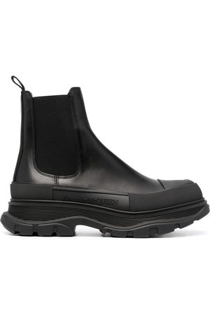 Alexander McQueen Chelsea-boots med grov sula