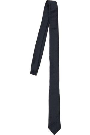 Saint Laurent Ysl Monogram Silk Tie