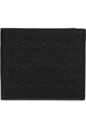 Saint Laurent Man Plånböcker - Allover Monogram Leather Wallet