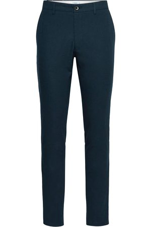Farah Man Chinos - Elm Cotton Hopsack Slim Fit Chino Chinos Byxor