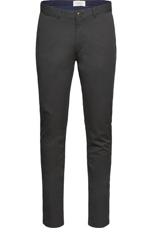 Scotch&Soda Man Chinos - Stuart - Classic Regular Slim Fit Chino Chinos Byxor Grön