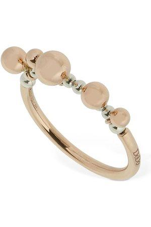 Dodo 9kt Rose Gold Bollicine Thin Ring