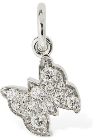 Dodo 18kt Farfalla Charm W/ Diamond