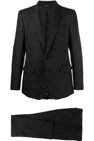 Dolce & Gabbana Man Kostymer - Blommig tvådelad kostym i jacquard