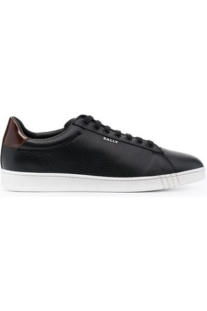 Bally Man Sneakers - Wildy grained low-top sneakers