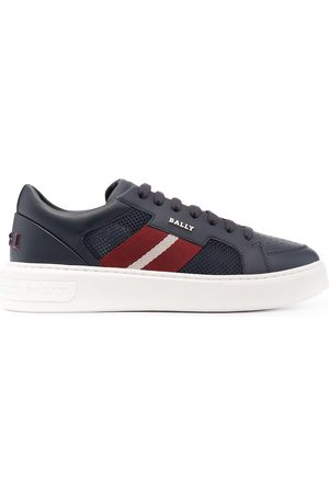 Bally Man Sneakers - Striped band chunky-sole sneakers