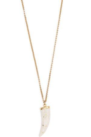 Isabel Marant Kvinna Halsband - Aimable horn-pendant necklace