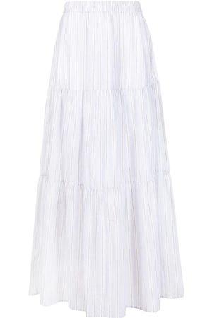 Fabiana Filippi Randig kjol med lagerdesign