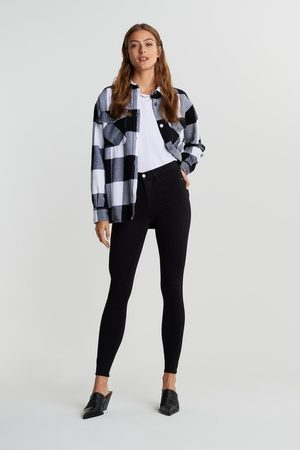 Gina Tricot Molly TALL high w jeans