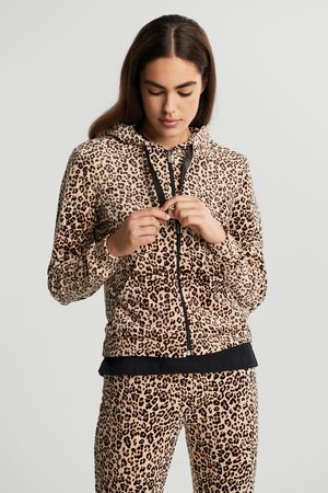 Gina Tricot Cecilia velour hoodie