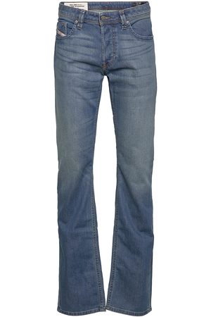 Diesel Man Straight - Larkee-X L.34 Trousers Jeans Comfort Fit Blå