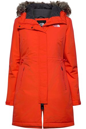 The North Face Kvinna Parkasjackor - W Rec Zaneck Jkt Parka Rock Jacka
