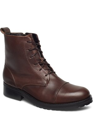 Royal RepubliQ Ave Lace Up Boot Shoes Boots Ankle Boots Ankle Boots Flat Heel