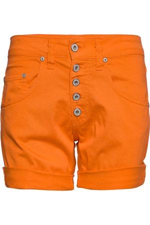 Please Kvinna Bermudashorts - 5b Shorts Cotton Bermudashorts Shorts Vit
