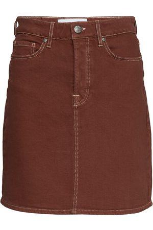 Tomorrow Mandela Denim Skirt Color Kort Kjol