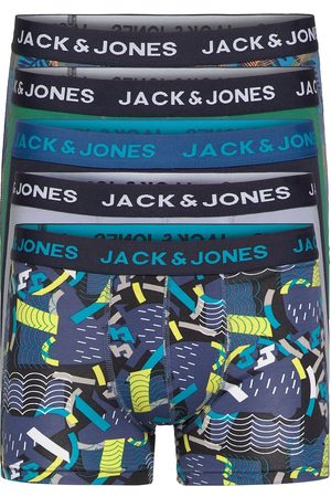 Jack & Jones Jacsummer Print Trunks 5 Pack Ltn Boxerkalsonger Multi/mönstrad Jack & J S