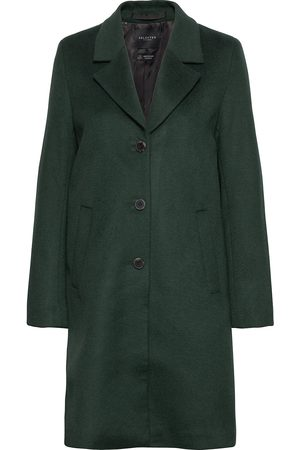 Selected Slfsasja Wool Coat Noos B Yllerock Rock