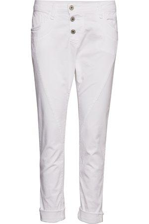 Please Jeans Kvinna Straight - C Cotton Raka Jeans
