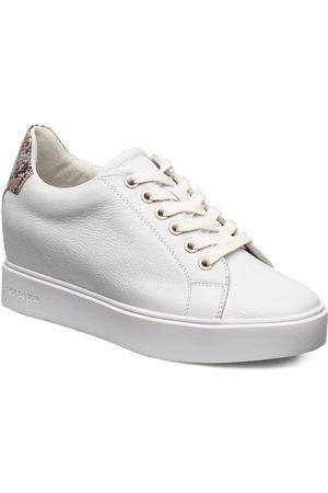 Shoe The Bear Ava Grain Låga Sneakers Vit