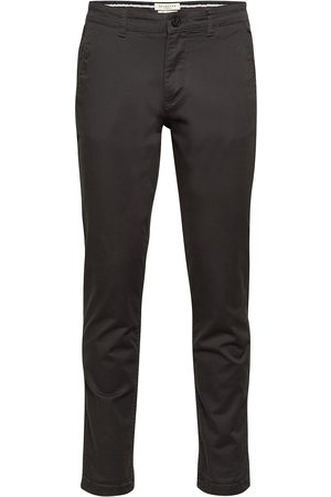 Selected Slhstraight-Newparis Flex Pants W Noos Chinos Byxor Brun