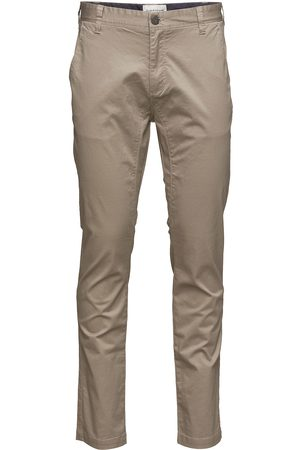 Bruun & Stengade Man Chinos - Flash, Chinos Slim Chinos Byxor Svart