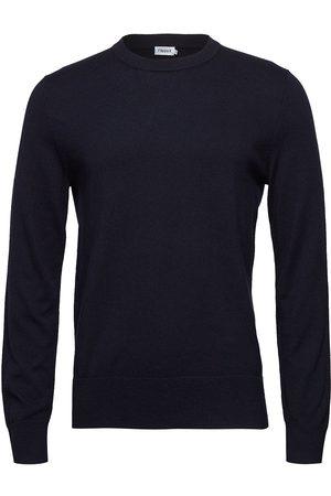 Filippa K Man Stickade tröjor - M. Cotton Merino Basic Sweater Stickad Tröja M. Rund Krage Grön