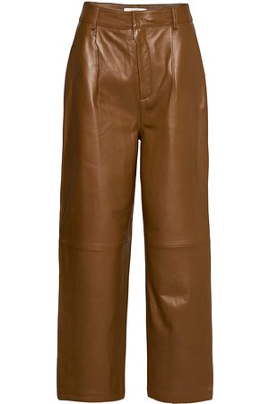 Gestuz Aliahgz Culotte Leather Leggings/Byxor