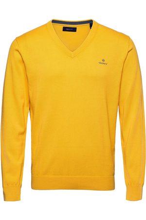 GANT Man Stickade tröjor - Classic Cotton V-Neck Stickad Tröja V-krage