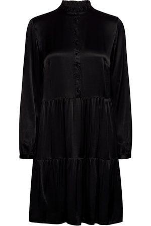Pulz jeans Kvinna Festklänningar - Pzmiley Dress Kort Klänning Brun