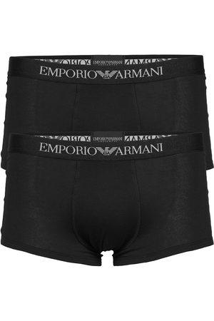 Emporio Armani Mens Knit 2pack Trun Boxerkalsonger