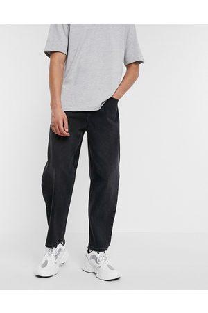 ASOS – Svarta jeans med barrel-ben