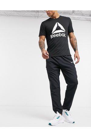 Reebok – Träning – Svarta mjukisbyxor