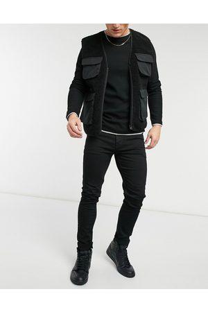 ASOS – No Fade – Svarta skinny jeans