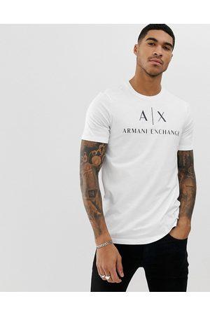 Armani – t-shirt med textlogga