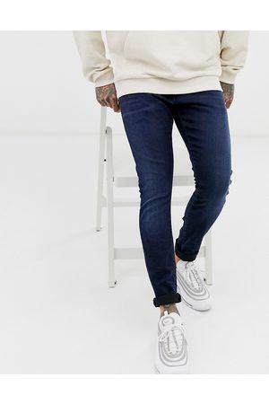 G-Star – Indigoblå skinny jeans-Marinblå