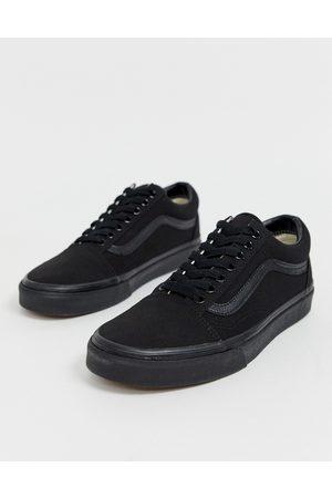 Vans – Old Skool – Svarta sneakers